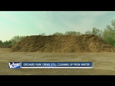 Orchard Park still cleaning up after harsh winter