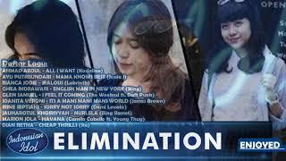Penampilan Terbaik KONTESTAN INDONESIAN IDOL 2018, Kumpulan Lagu Dari Peserta