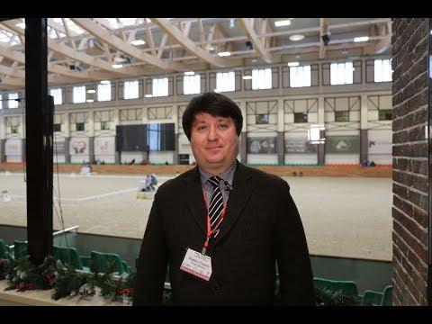 Евгений Руднев о соревнованиях по паралимпийской выездке CPEDI3*