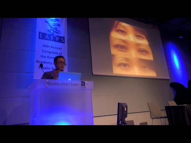 Dr. Sam Lam from Dallas, Texas Lectures on the Aging Asian Eyelid in Oslo, Norway