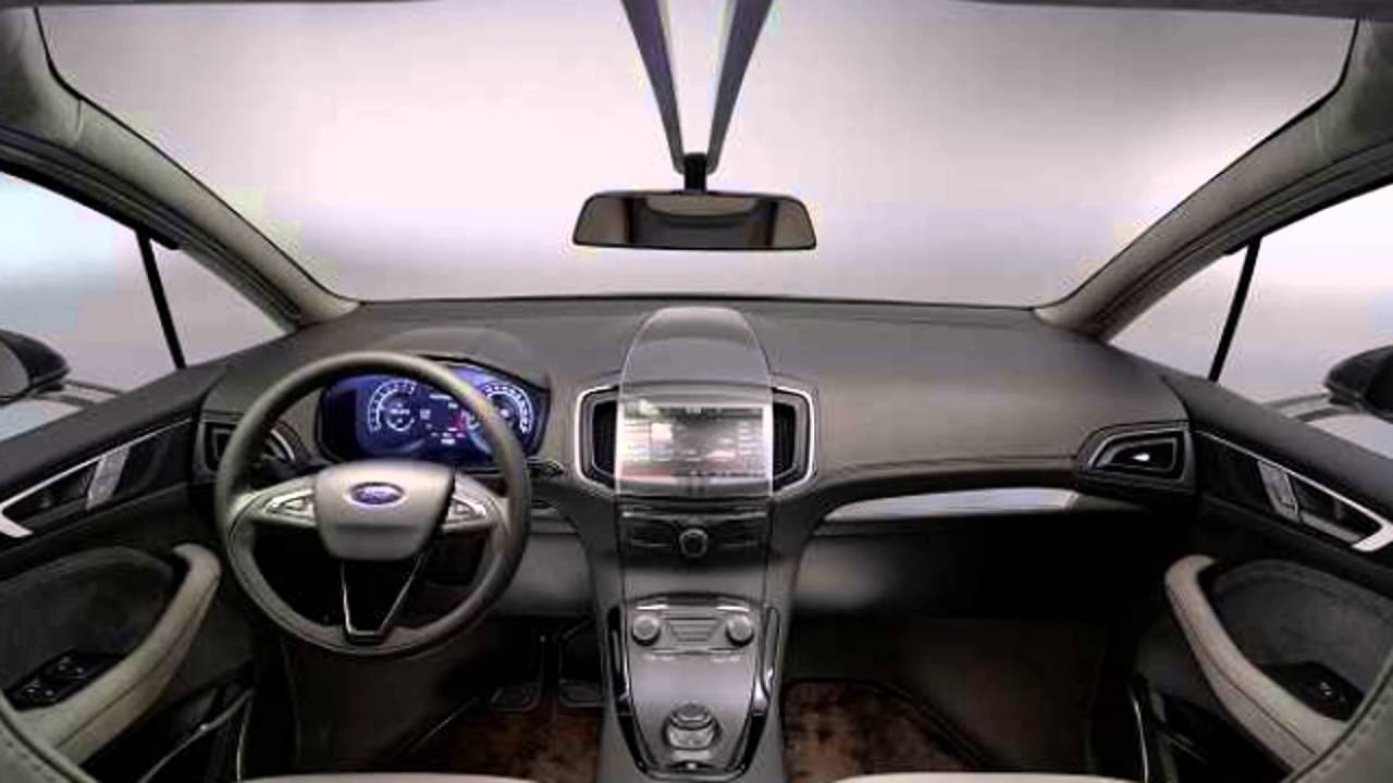 2016 Ford S-Max Interior - YouTube
