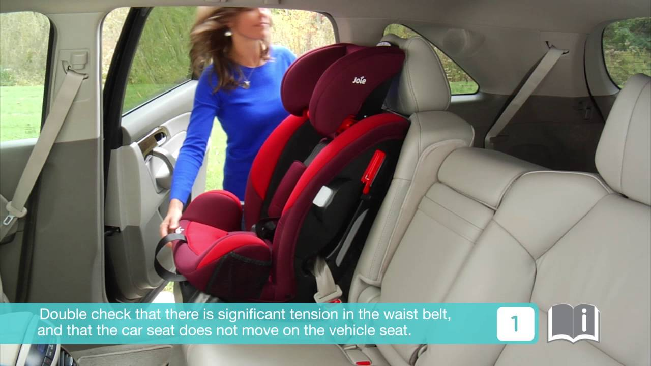 Smyths Toys Joie Every Stage 0 1 2 3 Car Seat Youtube