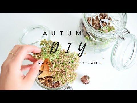 Jesienna dekoracja | Autumn DIY