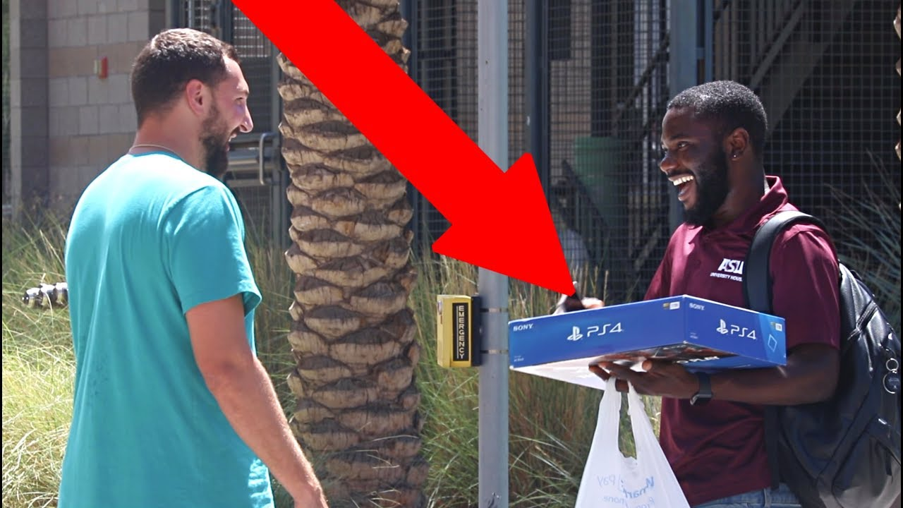 Giving Strangers The Playstation 4