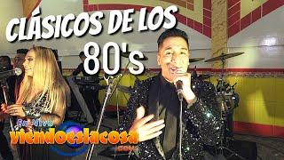 VIDEO: MIX CLÁSICOS DE LOS 80's (en VIVO)