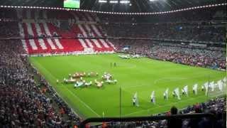【HD】UEFA Champions League Final 2012 Munich,Opening Ceremony(FC Bayern München vs Chelsea)
