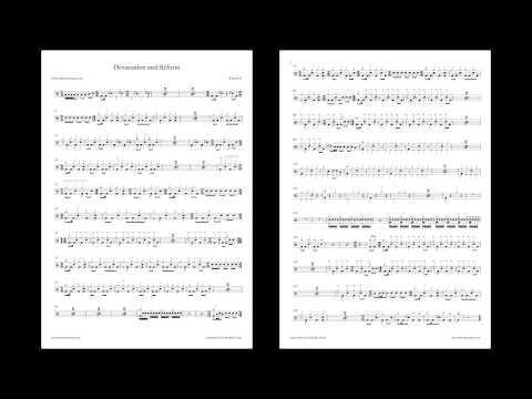 Devastation and Reform - Relient K [Drum Sheet Music]