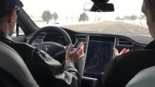 Tesla Model S p90d Test Drive