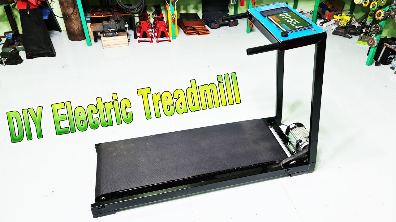 DIY Electric Treadmill Using 750W Reducer Brushless Motor