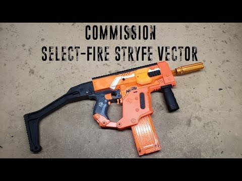 Commission - Select-Fire Stryfe Vector