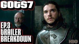 [Game of Thrones] Season 7 episode 3 Trailer Breakdown | Frame by Frame  | Jon Snow Daenerys