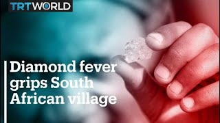 Diamond fever grips South African village
