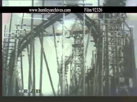 Shipbuilding in Belfast, 1950's - Film 92326