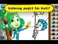 Fiksiki Toddler Coloring Book / Children Coloring For Kids Drawing Games Android Gameplay