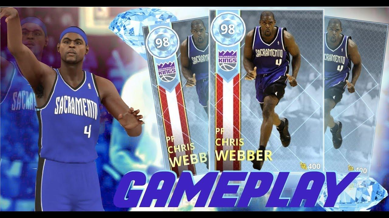 INSANE PRIME TIME DIAMOND CHRIS WEBBER GAMEPLAY!! BEST POWER FORWARD IN THE  GAME!! NBA 2K18 MYTEAM