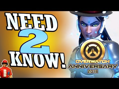 Overwatch - 2018 Anniversary Event | Start Time & Everything Else You Need to Know!