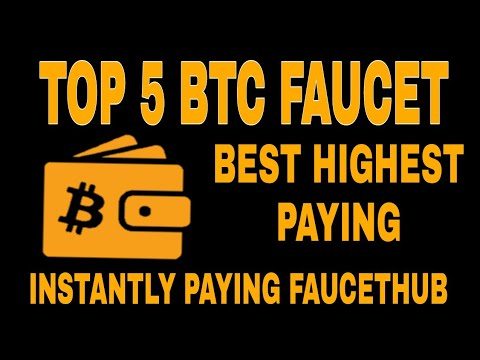 TOP 5 Faucet Site 2018 | Best Highest Paying Bitcoin Faucet Sites ...