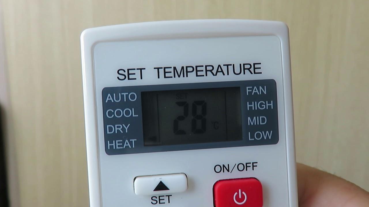 Que Significa Dry En Nuestro Control Del Aire