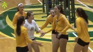 Arkansas Tech Volleyball vs. Alabama-Huntsville (09/16/17) - Highlights