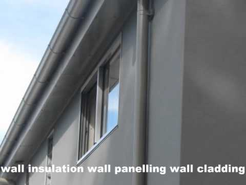 Wall panels that include insulation will reduce the cost of cladding new homes.