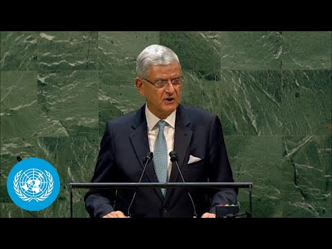 🇺🇳 President of the General Assembly Addresses General Debate, 75th Session