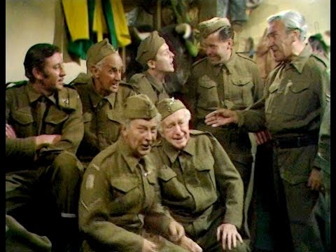 Dad's Army - Sgt. Safe My Boy! - ... at the Marigold Tea Rooms they used to fill the buns...