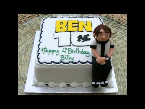Character Birthday Cakes Asda ~ Ben birthday cake youtube