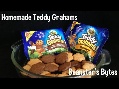 How to - Homemade Teddy Grahams!