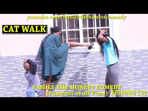 CAT WALK (Mark Angel Comedy) (Family The Honest Comedy) (Episode 152)