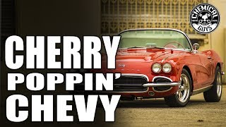 How To Make Your Cherry Paint POP! - 1962 Chevy Corvette - Chemical Guys Car Care