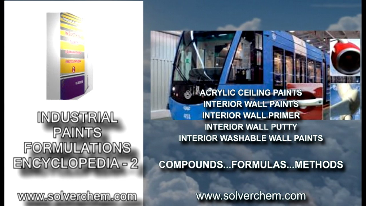 Acrylic Interior Wall Putty Formulation And Production | E-TEXTBOOKS