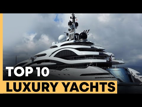 The Top 10 Most Luxury Yachts in 2021 (NEW)