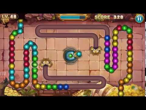 Zuma Game Marble Legend Level 46 47 48 Youtube