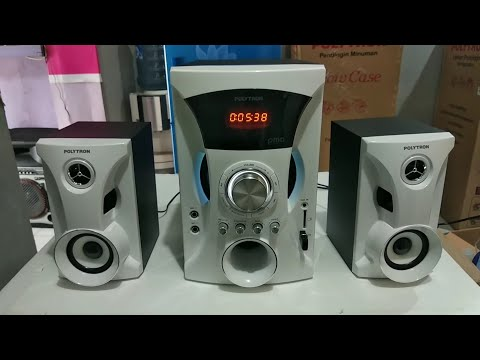 Polytron PMA 9505 WA Speaker Gaming Power BASS Mantap Wirelles Bluetooth ( Unboxing Review Speaker )
