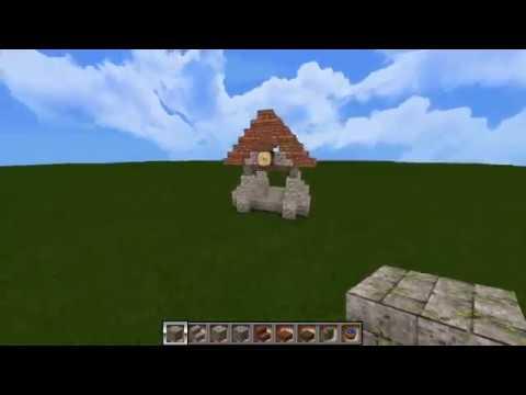 minecraft alten brunnen bauen brunnen 2 youtube. Black Bedroom Furniture Sets. Home Design Ideas