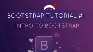 Bootstrap 3 Tutorials
