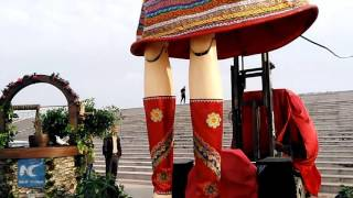 World's largest doll installed in E China's Shandong