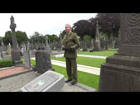 Pearse's Famous Graveside Speech,  Glasnevin Cemetery Dublin