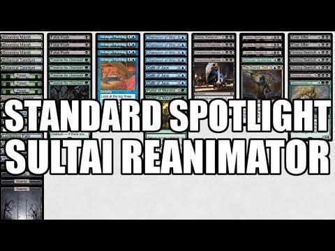 Standard Spotlight: Sultai Reanimator (Deck Tech & Matches)