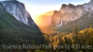 Yosemite National Park just grew by 400 acres