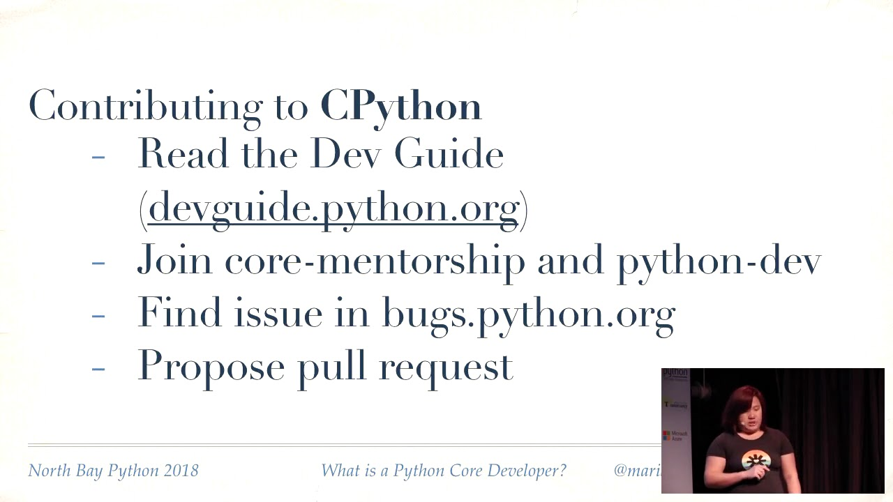 Image from What is a Python Core Developer?