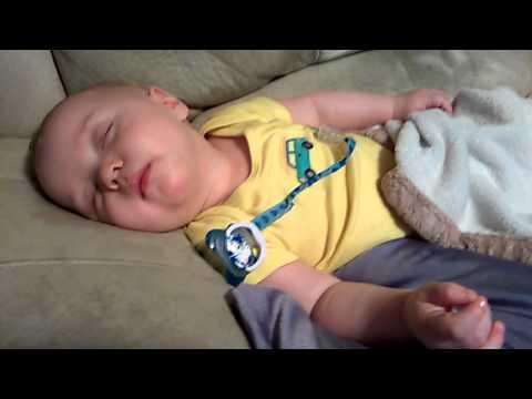 Baby Sleeping Eyes