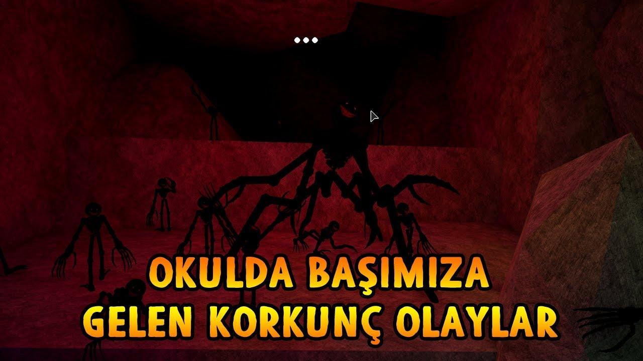 OKULDA BAŞIMIZA GELEN KORKUNÇ OLAYLAR! - Roblox