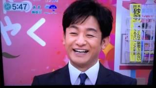 片岡愛之助 がみんなのニュースにゲスト出演.
