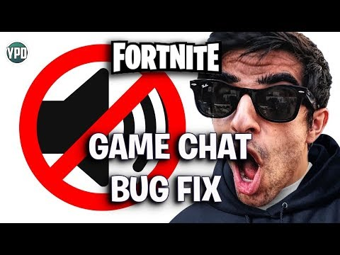 Fortnite Game Chat Bug Fix PS4 Why Can't I hear Party Chat? Solved!