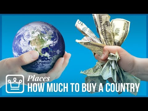 how-much-money-do-you-need-to-have-your-own-country
