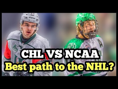 What Is The BEST Path To The NHL? CHL VS NCAA