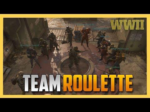 Team Roulette in COD WW2!
