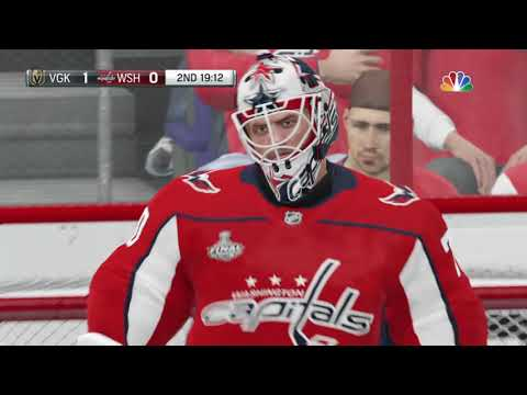 NHL 19 Stanley Cup Rematch - Vegas Knights vs Washington Capitals - Game 1