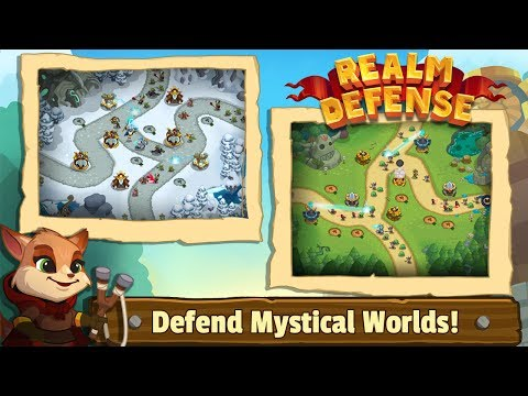 Realm Defense: Hero Legends TD (by Babeltime Inc) / Android Gameplay HD